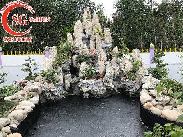 Thi Công Sân Vườn Anh Tú Tỉnh Hậu Giang 3
