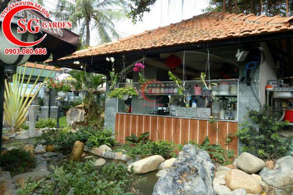 Thi công quán cafe Sinh Viên Quận Bình Tân 1