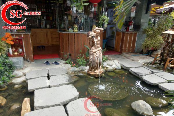 Thi công quán cafe Sinh Viên Quận Bình Tân 5