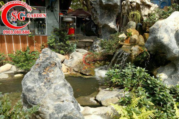 Thi công quán cafe Sinh Viên Quận Bình Tân 2
