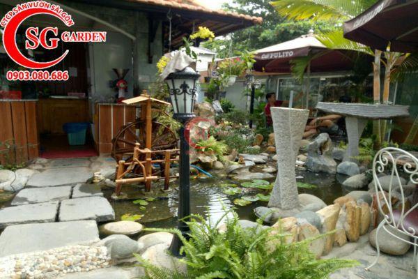Thi công quán cafe Sinh Viên Quận Bình Tân 3
