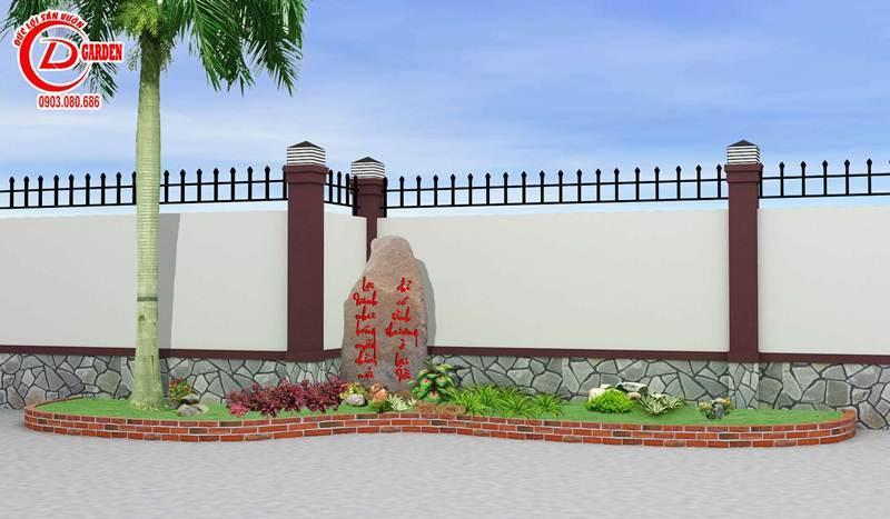 Công Trình Thi Công Sân Vuờn Cty Nam Thiên Long 6