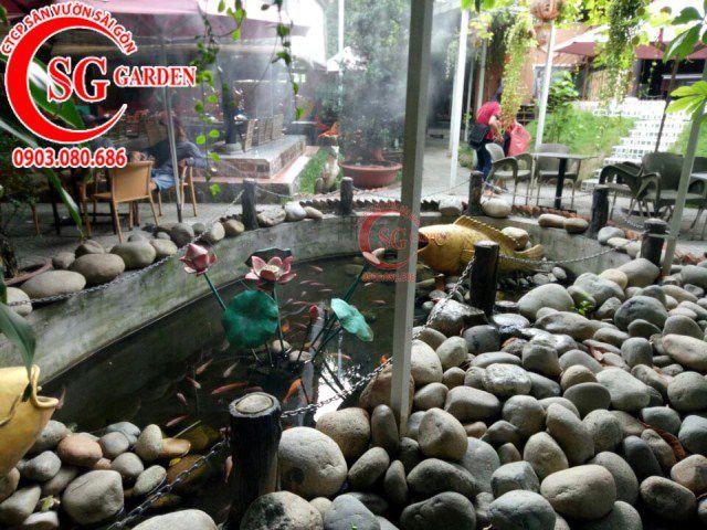 Công trình cafe Hương Xưa Hóc Môn 2