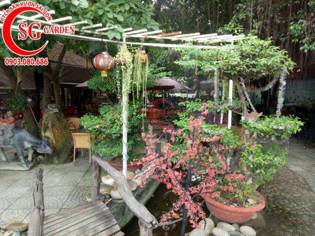 Công trình cafe Hương Xưa Hóc Môn 9