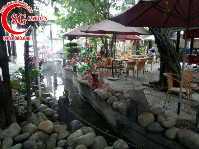 Công trình cafe Hương Xưa Hóc Môn 3