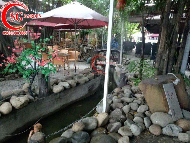 Công trình cafe Hương Xưa Hóc Môn 5
