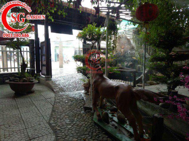 Công trình cafe Hương Xưa Hóc Môn 6