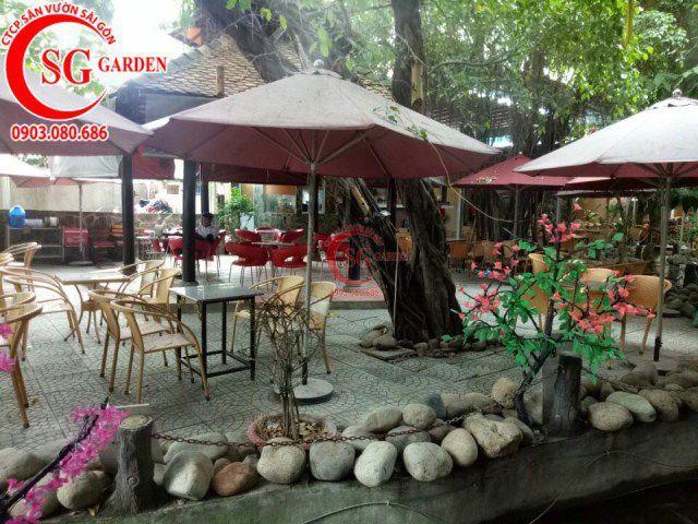 Công trình cafe Hương Xưa Hóc Môn 7