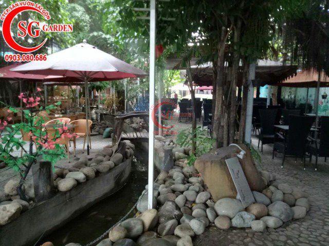 Công trình cafe Hương Xưa Hóc Môn 8