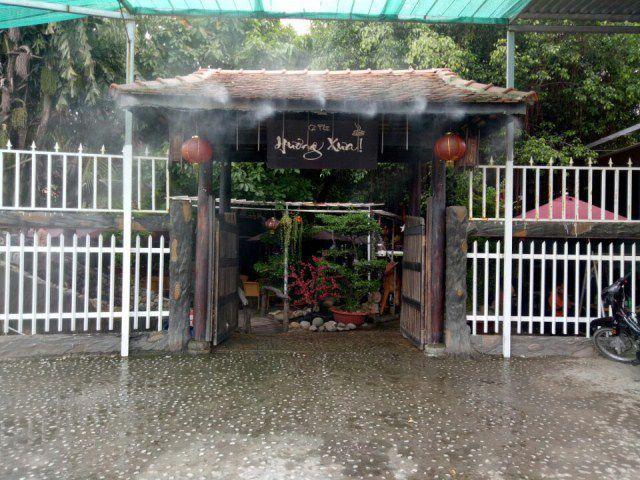 Công trình cafe Hương Xưa Hóc Môn 1