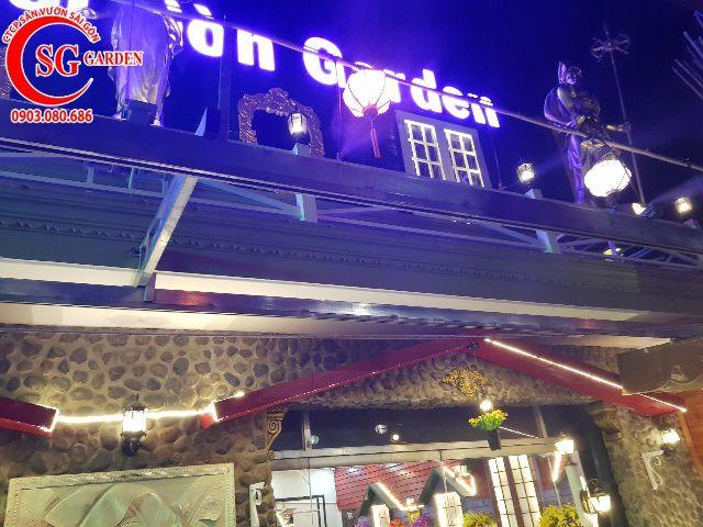 Thi Công Cafe Saigon Garden 402 Mã Lò 10