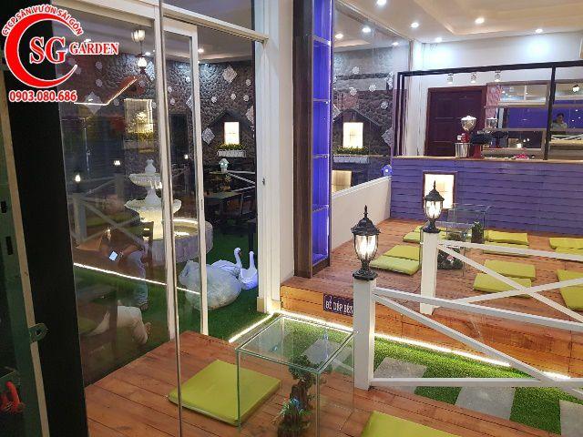 Thi Công Cafe Saigon Garden 402 Mã Lò 12