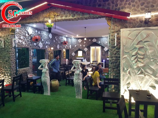 Thi Công Cafe Saigon Garden 402 Mã Lò 15