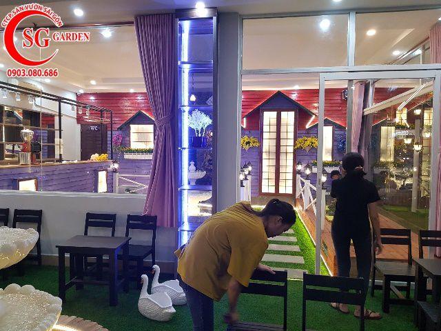 Thi Công Cafe Saigon Garden 402 Mã Lò 2