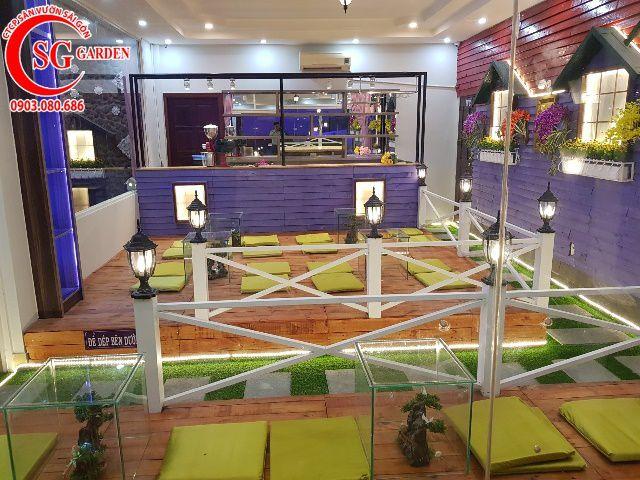 Thi Công Cafe Saigon Garden 402 Mã Lò 9