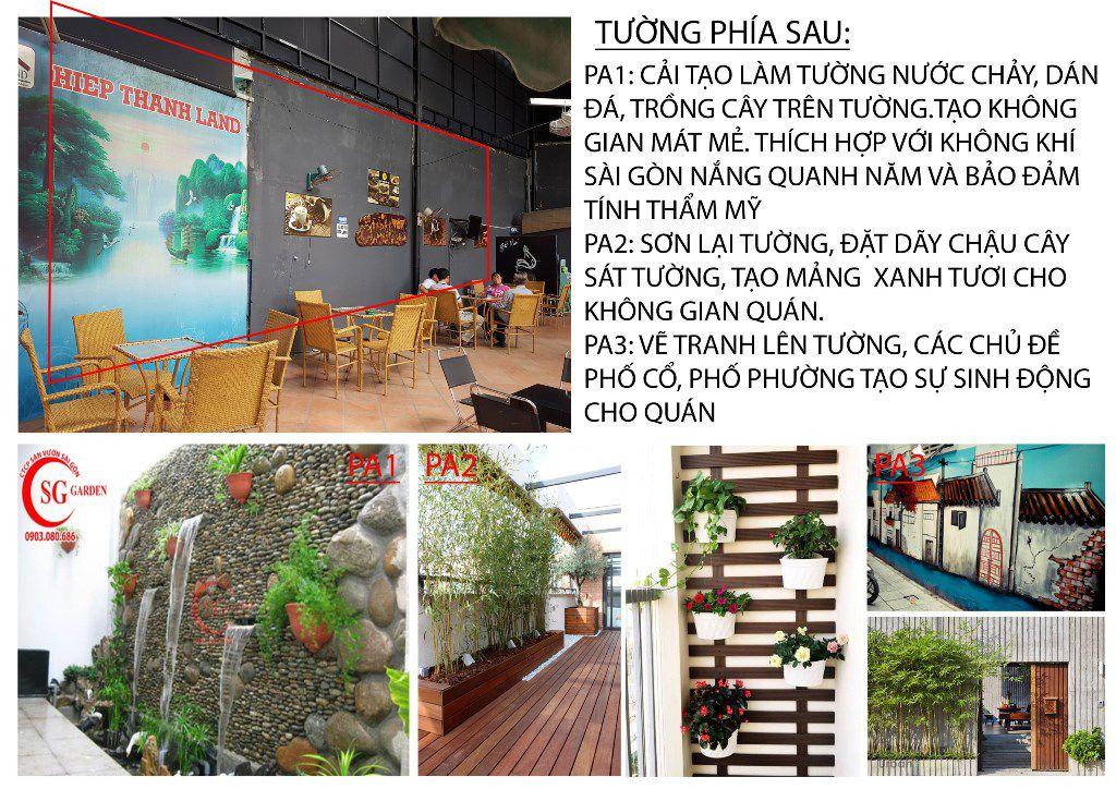 Thiết Kế Cafe Sân Vườn Anh Nam Quận 12 6