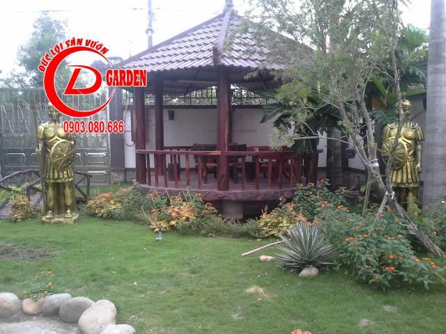 Công Trình Thi Công Sân Vuờn Cty Nam Thiên Long 5