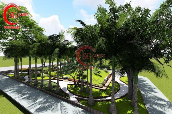 Dự án sân vườn chung cư 4s Thủ Đức 3