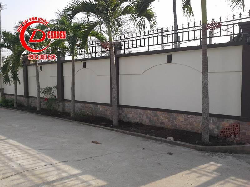 Công Trình Thi Công Sân Vuờn Cty Nam Thiên Long 1