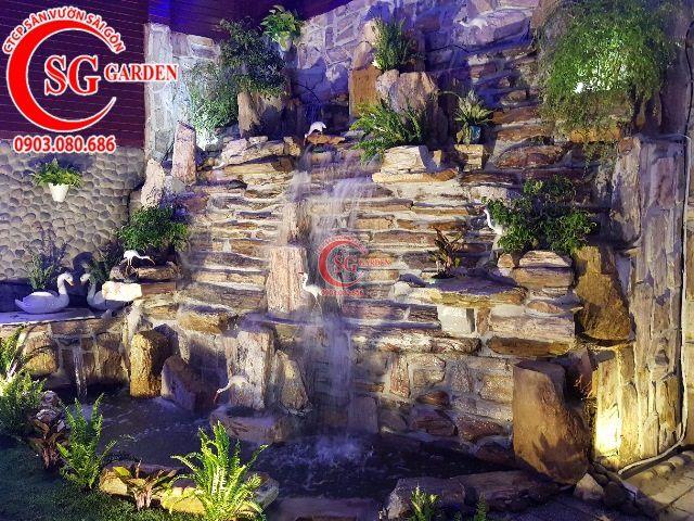 Thi Công Hoàn Thiện Cafe Hoa Viên Garden 14
