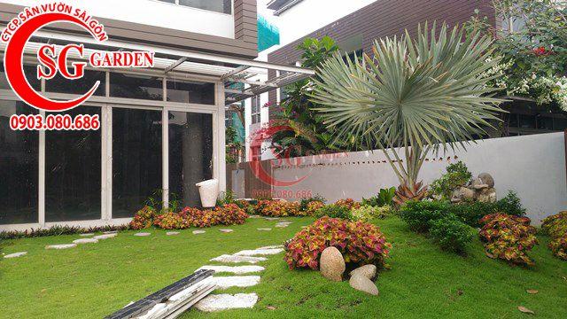 Hoàn Thành Sân Vườn Nhà Anh Sơn Quận 9 10