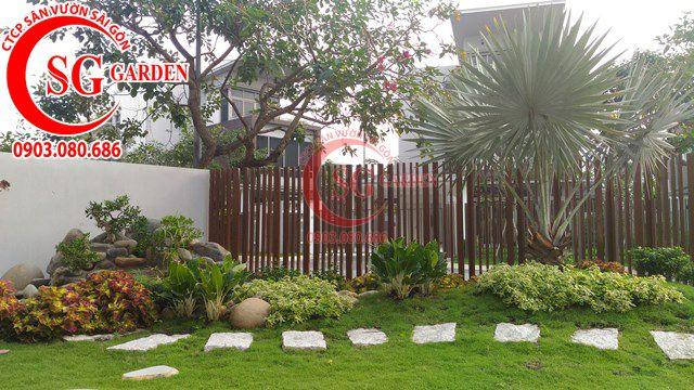 Hoàn Thành Sân Vườn Nhà Anh Sơn Quận 9 15