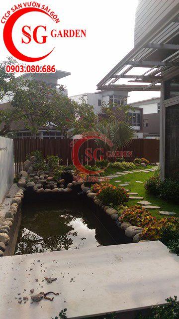 Hoàn Thành Sân Vườn Nhà Anh Sơn Quận 9 2