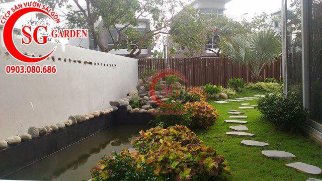 Hoàn Thành Sân Vườn Nhà Anh Sơn Quận 9 3