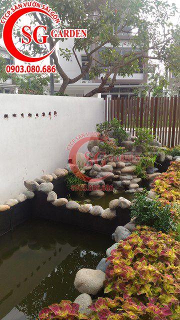 Hoàn Thành Sân Vườn Nhà Anh Sơn Quận 9 6