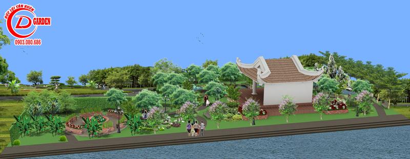 Công trình Công Viên Sân Vườn Cần Thơ 15