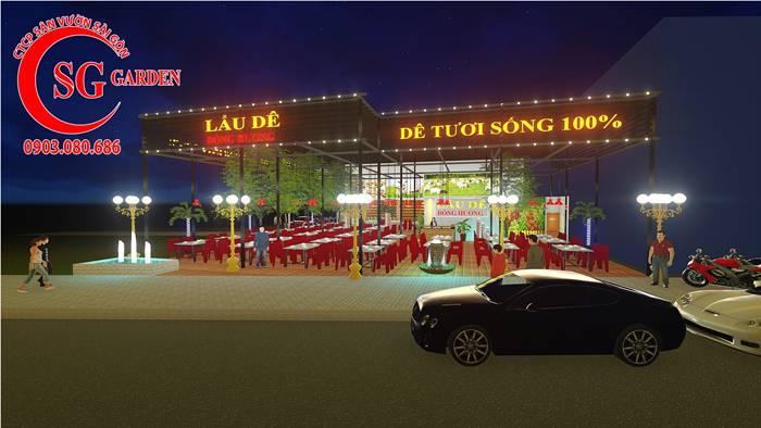 Quán Lẩu Dê Đồng Hương 1