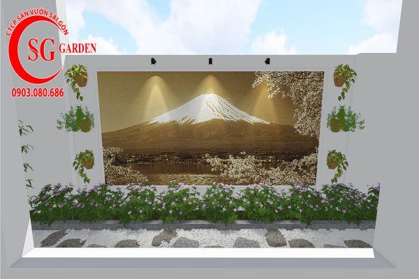 Thiết kế sân vườn anh Khanh Bình Tân 7