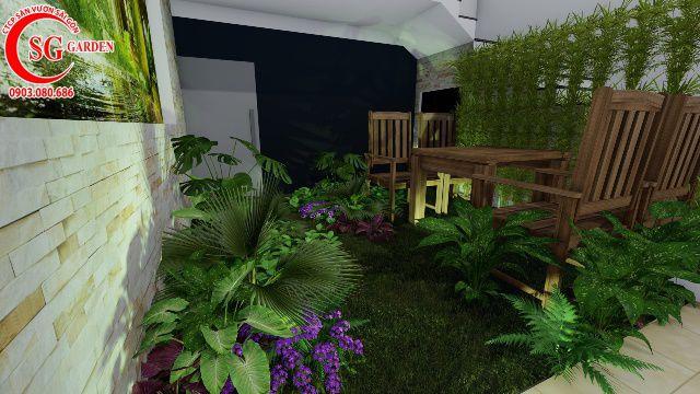 Sân Vườn Biệt Thự Nhà Anh Nguyên Nhà Bè 13
