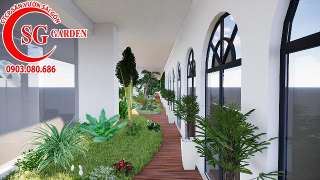 Sân Vườn Sân Thượng Chị Bích quận Phú Nhuận 6