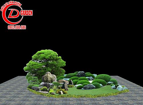 Công Trình Sân Vườn Trần Hiệp Thành 10