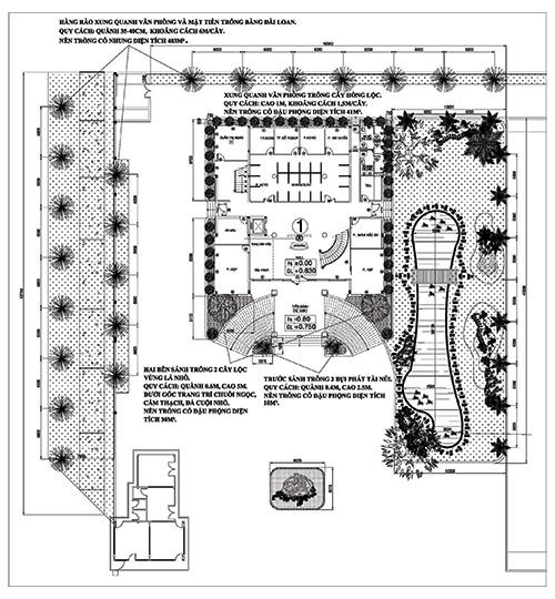 Công Trình Sân Vườn Trần Hiệp Thành 3