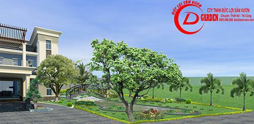 Công Trình Sân Vườn Trần Hiệp Thành 7