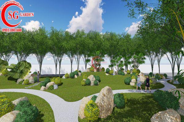 Bản thảo sân vườn tỉnh ủy Kiên Giang 17