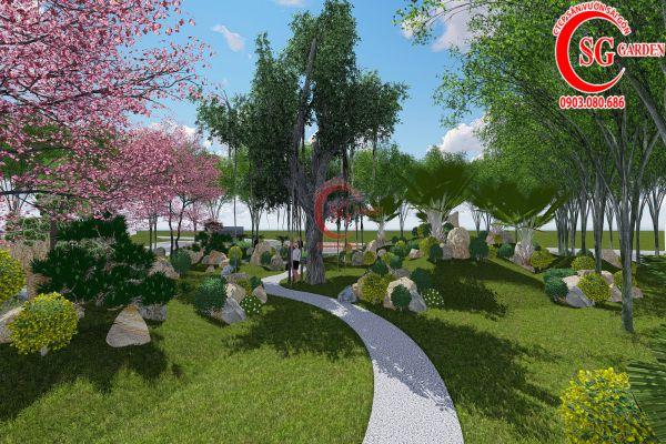 Bản thảo sân vườn tỉnh ủy Kiên Giang 21
