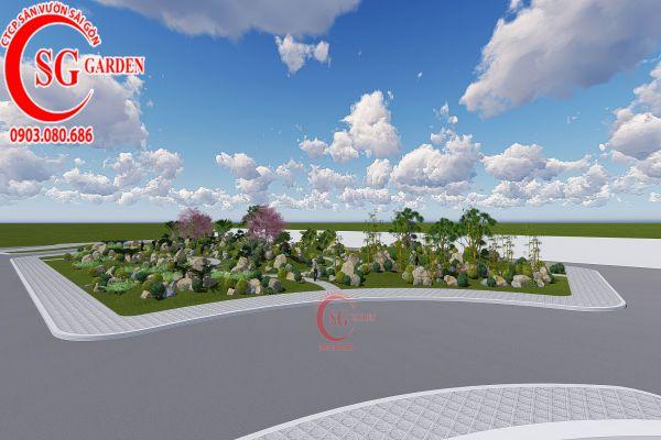 Bản thảo sân vườn tỉnh ủy Kiên Giang 5