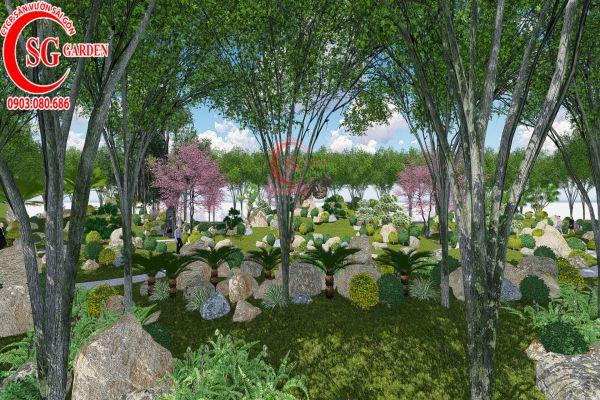 Bản thảo sân vườn tỉnh ủy Kiên Giang 7