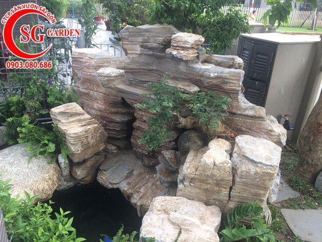 Thi Công Hoàn Thiện Sân Vườn Chú Dụng Quận 9 5