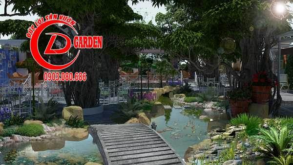 Công Trình Thi Công Quán Cafe Paradise 1
