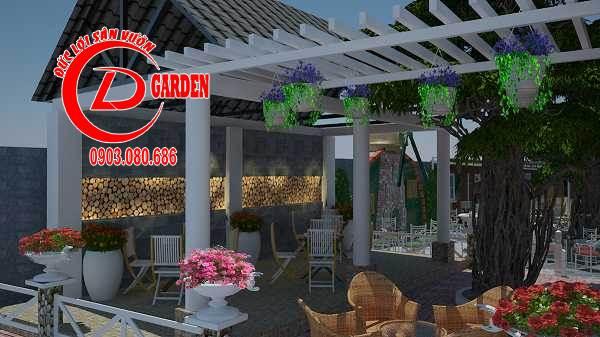 Công Trình Thi Công Quán Cafe Paradise 11