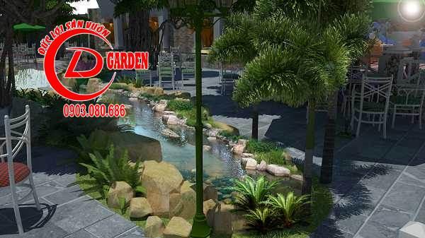 Công Trình Thi Công Quán Cafe Paradise 14