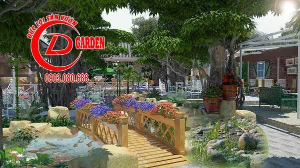 Công Trình Thi Công Quán Cafe Paradise 15