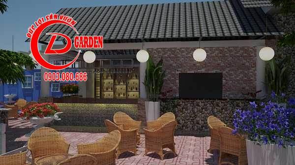 Công Trình Thi Công Quán Cafe Paradise