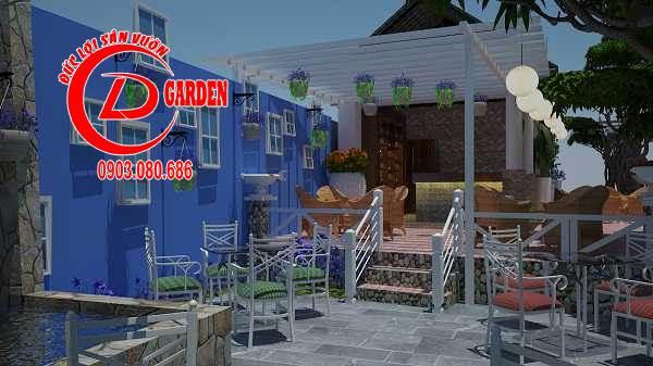 Công Trình Thi Công Quán Cafe Paradise 17