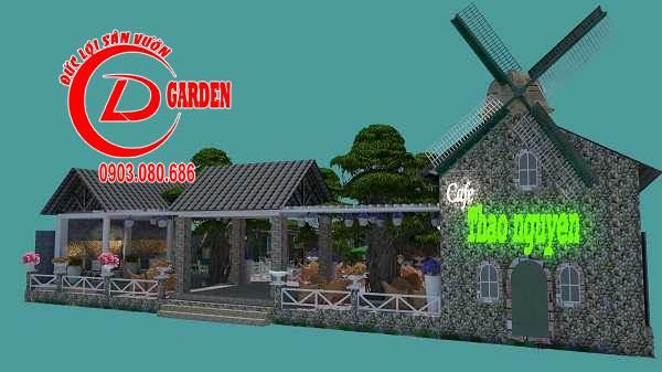 Công Trình Thi Công Quán Cafe Paradise 3
