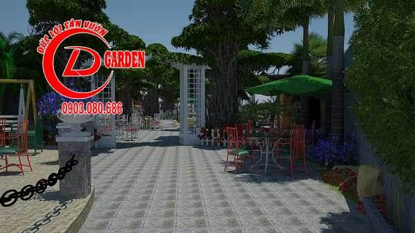 Công Trình Thi Công Quán Cafe Paradise 4